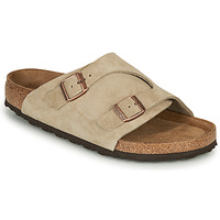 Schoenen Leren slippers Birkenstock ZURICH SFB LEATHER Grey