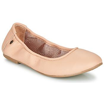 Schoenen Dames Ballerina's Minnetonka ANNA Roze