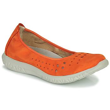 Schoenen Dames Ballerina's Dorking SILVER Orange