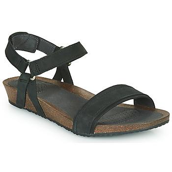 Schoenen Dames Sandalen / Open schoenen Teva MAHONIA STITCH Zwart