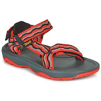 Schoenen Meisjes Sandalen / Open schoenen Teva HURRICANE XLT2 Rood / Zwart