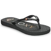 Schoenen Meisjes Slippers Roxy SANDY III Zwart