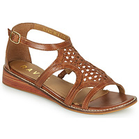 Schoenen Dames Sandalen / Open schoenen Ravel CARDWELL Tan