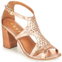 Schoenen Dames Sandalen / Open schoenen Ravel COREEN Roze / Goud