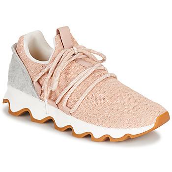 Schoenen Dames Lage sneakers Sorel KINETIC LACE Roze