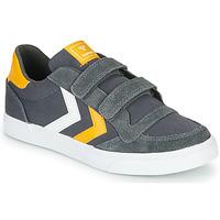 Schoenen Kinderen Lage sneakers Hummel STADIL LOW JR Grijs