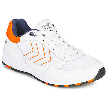 Schoenen Heren Lage sneakers Hummel 3-S SPORT Wit / Orange