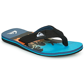 Schoenen Kinderen Slippers Quiksilver MOLOKAI LAYBACK Blauw