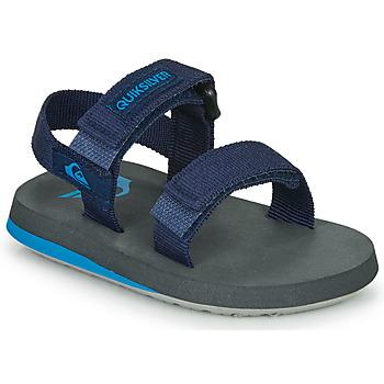 Schoenen Kinderen Sandalen / Open schoenen Quiksilver MONKEY CAGED TODDLER Marine