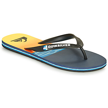 Schoenen Heren Slippers Quiksilver MOLOKAI HOLD DOWN Zwart / Blauw