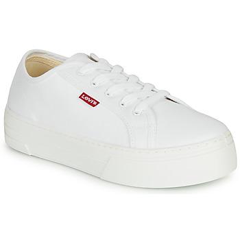 Schoenen Dames Lage sneakers Levi's TIJUANA Wit