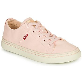 Schoenen Dames Lage sneakers Levi's SHERWOOD S LOW Roze