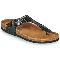 Schoenen Dames Slippers Les Petites Bombes TANIA Zwart