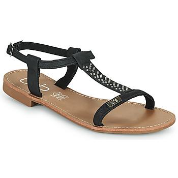Schoenen Dames Sandalen / Open schoenen Les Petites Bombes EMILIE Zwart