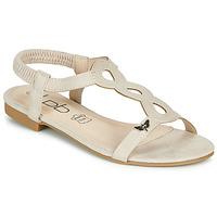 Schoenen Dames Sandalen / Open schoenen Les Petites Bombes FLORA Beige