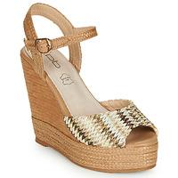 Schoenen Dames Sandalen / Open schoenen Les Petites Bombes PAOLA Beige