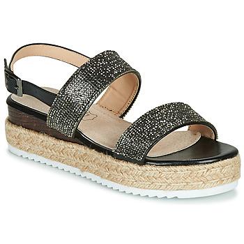 Schoenen Dames Sandalen / Open schoenen Les Petites Bombes CHLOE Zwart