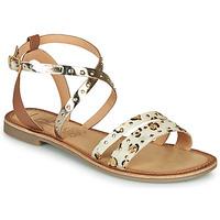 Schoenen Dames Sandalen / Open schoenen Les Petites Bombes AGATHE Goud