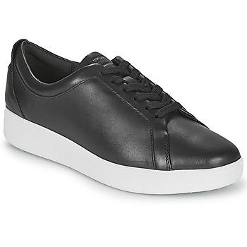 Schoenen Dames Lage sneakers FitFlop RALLY SNEAKERS Zwart