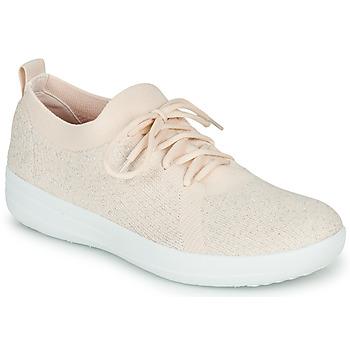 Schoenen Dames Lage sneakers FitFlop F-SPORTY UBERKNIT SNEAKERS Roze