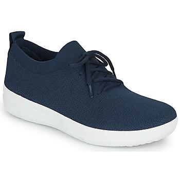 Schoenen Dames Lage sneakers FitFlop F-SPORTY UBERKNIT SNEAKERS Blauw