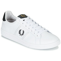 Schoenen Heren Lage sneakers Fred Perry B721 LEATHER Wit