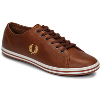 Schoenen Heren Lage sneakers Fred Perry KINGSTON LEATHER Brown