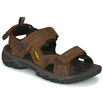 Schoenen Heren Outdoorsandalen Keen TARGHEE III OPEN TOE SANDAL Brown