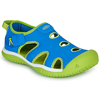 Schoenen Kinderen Outdoorsandalen Keen STINGRAY Blauw / Groen
