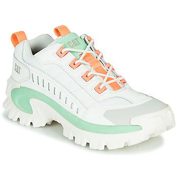 Schoenen Heren Lage sneakers Caterpillar INTRUDER Wit / Groen