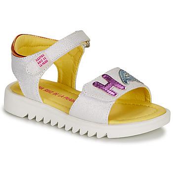Schoenen Meisjes Sandalen / Open schoenen Agatha Ruiz de la Prada SMILES Wit