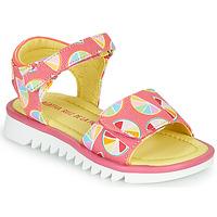 Schoenen Meisjes Sandalen / Open schoenen Agatha Ruiz de la Prada SMILES Roze / Multikleuren