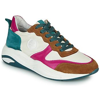 Schoenen Dames Lage sneakers Pataugas FRIDA Wit / Multikleuren