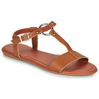 Schoenen Dames Sandalen / Open schoenen Esprit KONA T STRAP Cognac