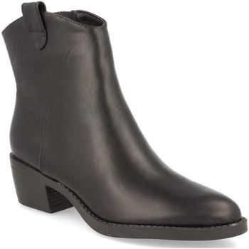 Schoenen Dames Enkellaarzen Prisska YY953 Negro