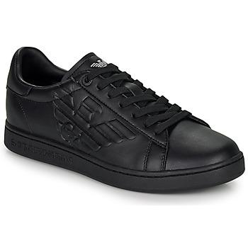 Schoenen Lage sneakers Emporio Armani EA7 CLASSIC NEW CC Zwart