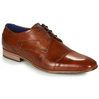Schoenen Heren Derby Bugatti MATTIA Brown