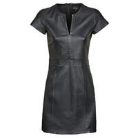 Textiel Dames Korte jurken Oakwood PLEASE Zwart