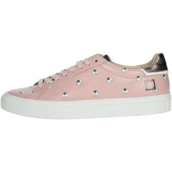 Schoenen Dames Lage sneakers Date I19-28 Rose