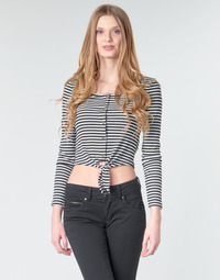 Textiel Dames Tops / Blousjes Pepe jeans FALBALA Zwart