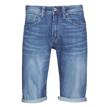 Textiel Heren Korte broeken / Bermuda's Pepe jeans CASH Blauw / Medium