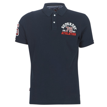 Textiel Heren Polo's korte mouwen Superdry CLASSIC SUPERSTATE S/S POLO Eclipse / Navy
