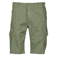 Textiel Heren Korte broeken / Bermuda's Superdry CORE CARGO SHORTS Groen