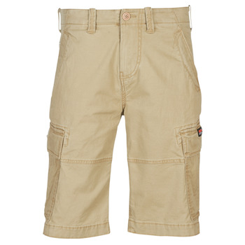 Textiel Heren Korte broeken / Bermuda's Superdry CORE CARGO SHORTS Dress / Beige
