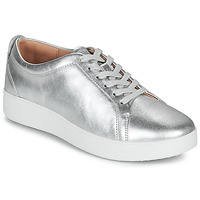 Schoenen Dames Lage sneakers FitFlop RALLY SNEAKERS Zilver