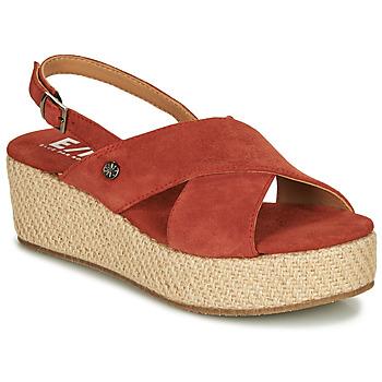 Schoenen Dames Sandalen / Open schoenen Elue par nous GESIEL Rood