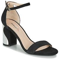 Schoenen Dames Sandalen / Open schoenen Metamorf'Ose GABELOU Zwart