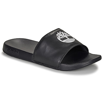 Schoenen Leren slippers Timberland PLAYA SANDS SPORTS SLIDE Zwart