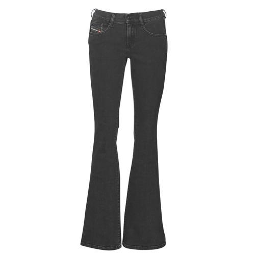 Textiel Dames Bootcut jeans Diesel EBBEY Blauw / Donker / 0870g