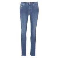 Textiel Dames Skinny jeans Diesel D-ROISIN Blauw / 085ab